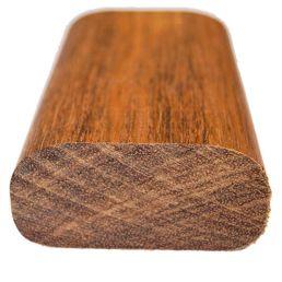 Handledara för Nordic räcke sipo mahogny trä
