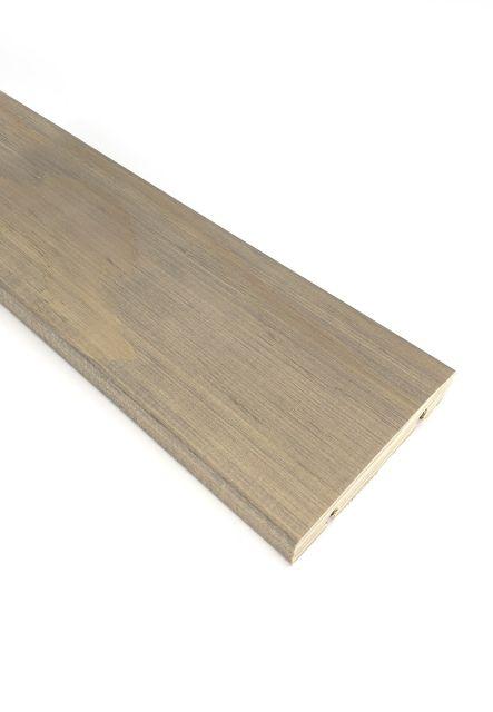 Träterrassebrädor i-CLiPS® Accoya grå