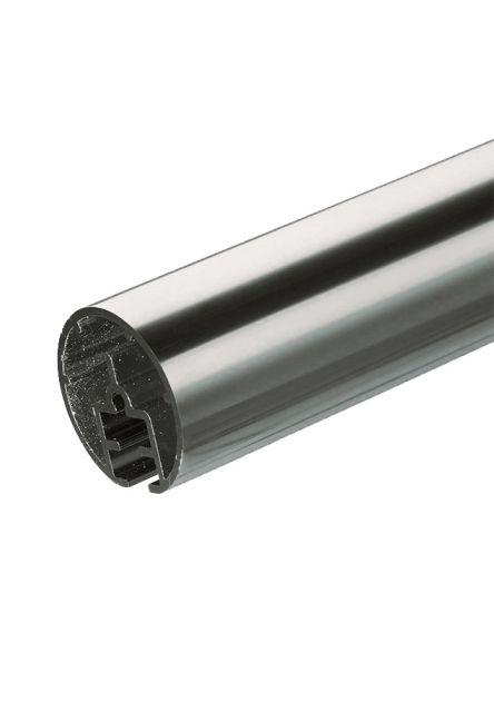 Handledare i aluminium PROVA PS4 2m