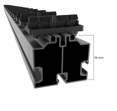 Monteringsskena 56mm för i-CLiPS®